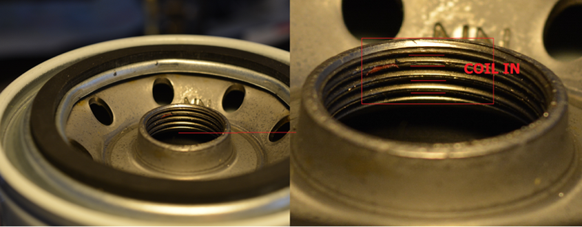 Thread groove angle and quality control